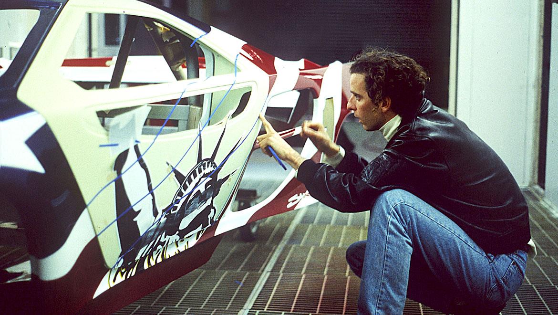 Michael-Santoro creating a livery design