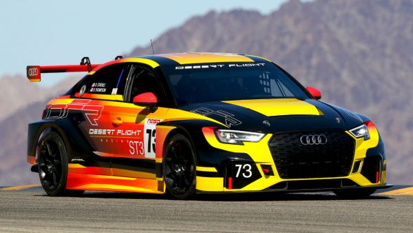 Audi automotive livery design by Michael Santoro