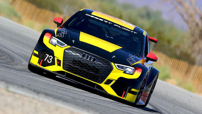 Desert Flight Racing Audi RS3 race car