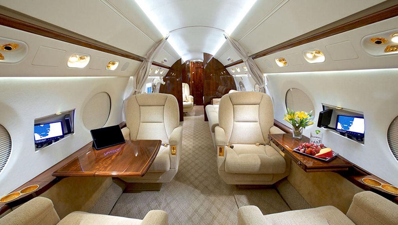 Gulfstream G5 interior