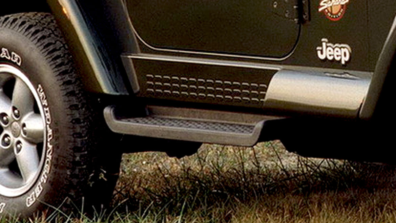 Skatebaord side steep for Jeep Wrangler by Michael Santoro