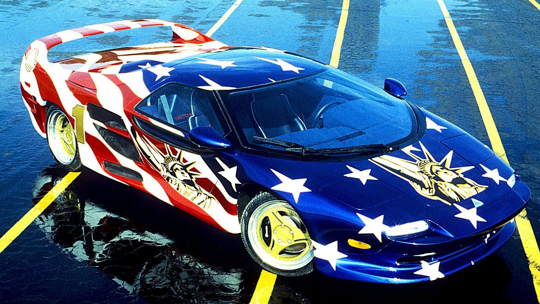 Vector show car by Michael Santoro