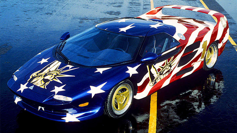 Vector M12 show car by Michael Santoro