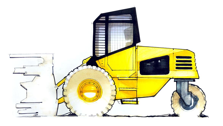 heavy equipment concept design by michael santoro
