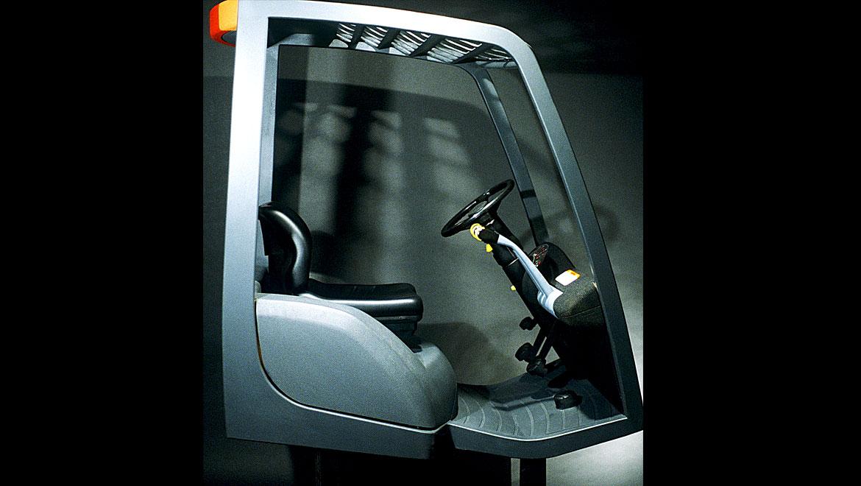 full size cab forward foklift model