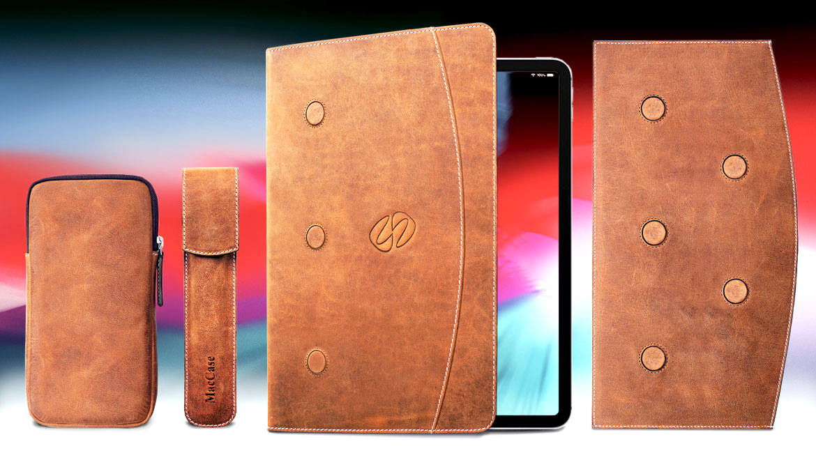 MacCaae Premium Leather iPad Pro Folios and accessories