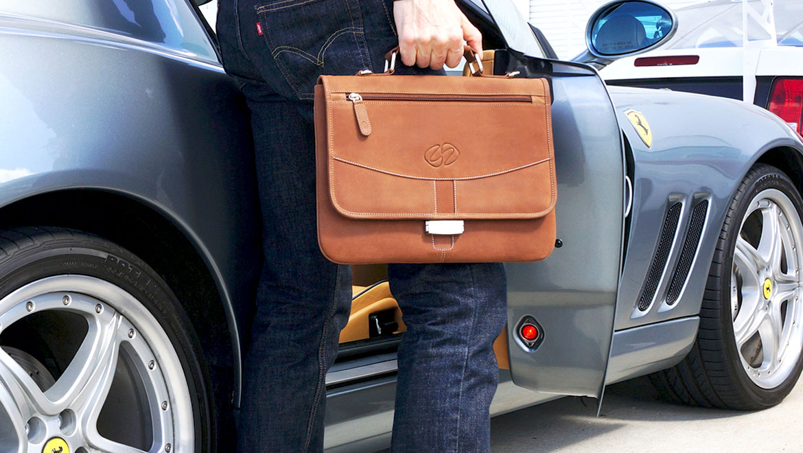 iPad Pro Leather Briefcase