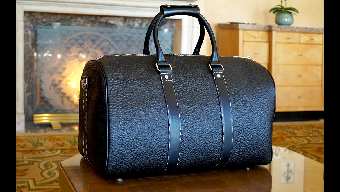 santoro duffle bag in black