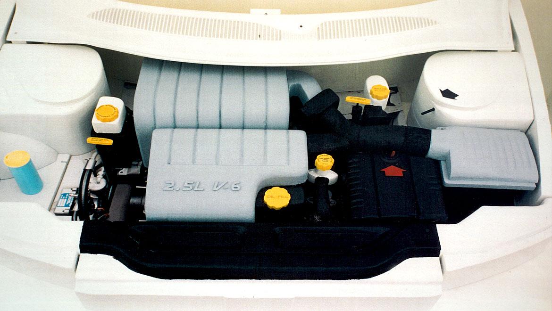 automotive design underhood model