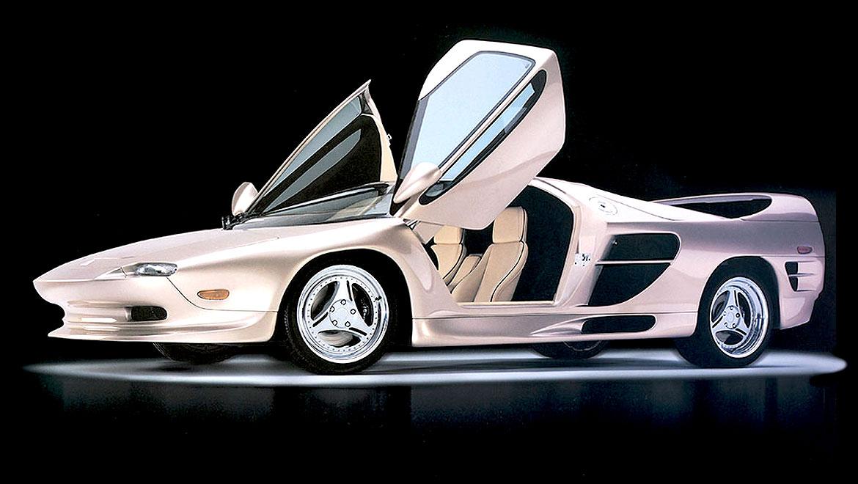 Vector M12 super car