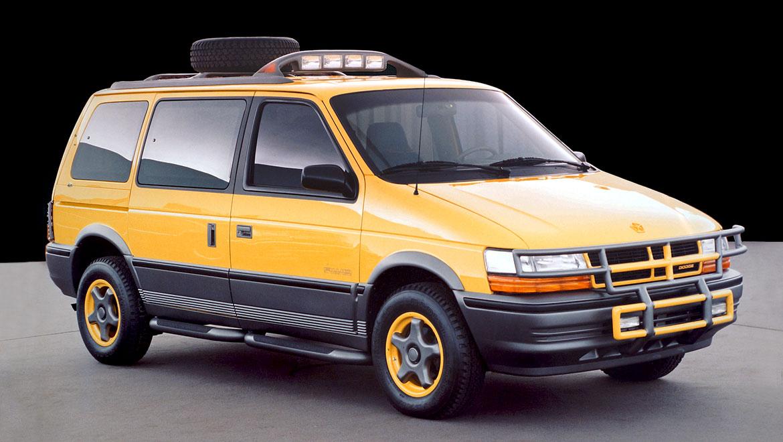 full size prototype off road concept minivan by michael santoro